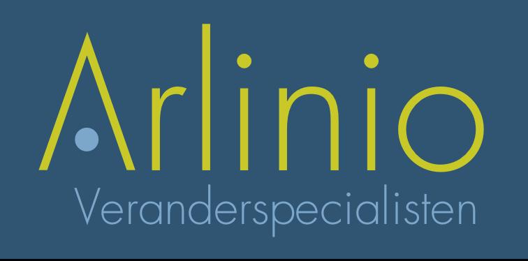 Arlinio logo BLAUW